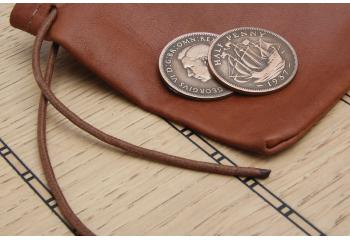Shipboard Leather purse